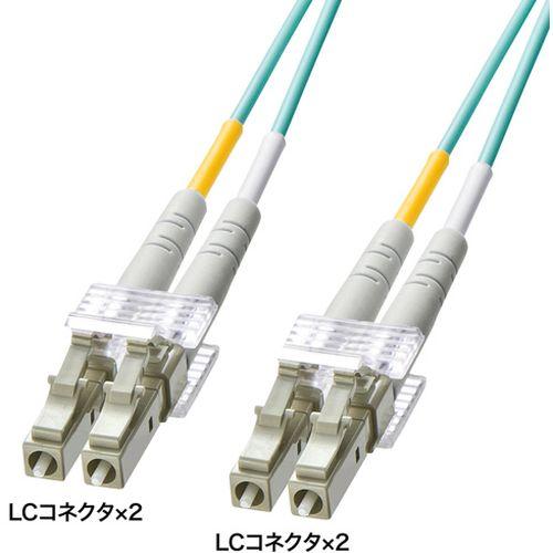 サンワサプライ OM3光ファイバケーブル 製品型番:HKB-OM3LCLC-03L