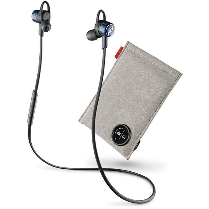 【沖縄・離島配送不可】Bluetooth ステレオヘッドセット BackBeat GO3 充電ケース付(コバルトブラック) PLANTRONICS BACKBEATGO3-CB-C
