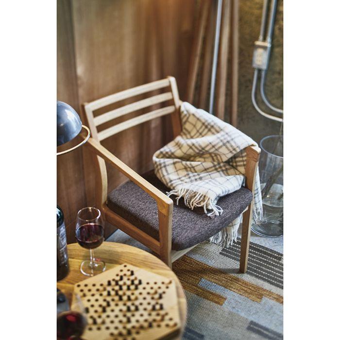 【北海道・沖縄・離島配送不可】【代引不可】アームチェア ダイニングチェア 椅子 いす 天然木 オーク 日本製 東谷 JPC-124OAK
