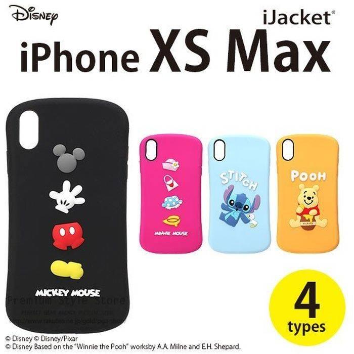 7c9bfa60f9 iPhone Xs Max 6.5 インチ アイフォン Xs Max 用ケース カバー ソフト シリコンケース ディズニー Disney 4デザイン PGA  PG-DCS5*****
