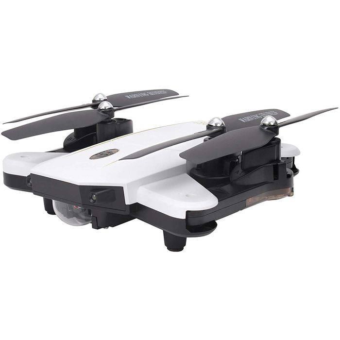 ドローン カメラ付 2.4GHz 4CH Wi-Fi デュアルカメラ搭載 クアッドコプター GRANFLOW グランフロー ホワイト 日本正規品 技適マーク取得済 ジーフォース GB061