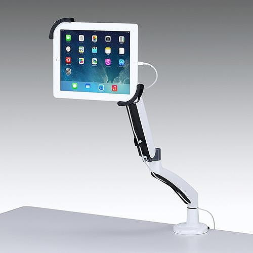 【代引不可】サンワサプライ 7~11インチ対応水平垂直iPad・タブレット用アーム  CR-LATAB6