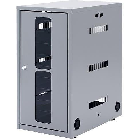 【代引不可】サンワサプライ タブレット・スレートPC収納保管庫 CAI-CAB7