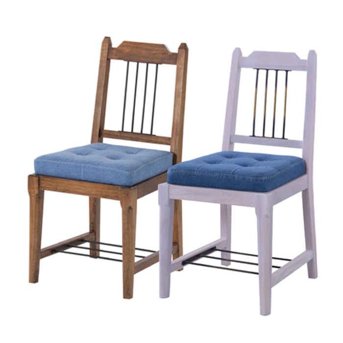 【北海道・沖縄・離島配送不可】【代引不可】ダイニングチェア チェア 椅子 木製 天然木 ファブリック 背もたれ有 食卓椅子 アンティーク風 東谷 PM-***