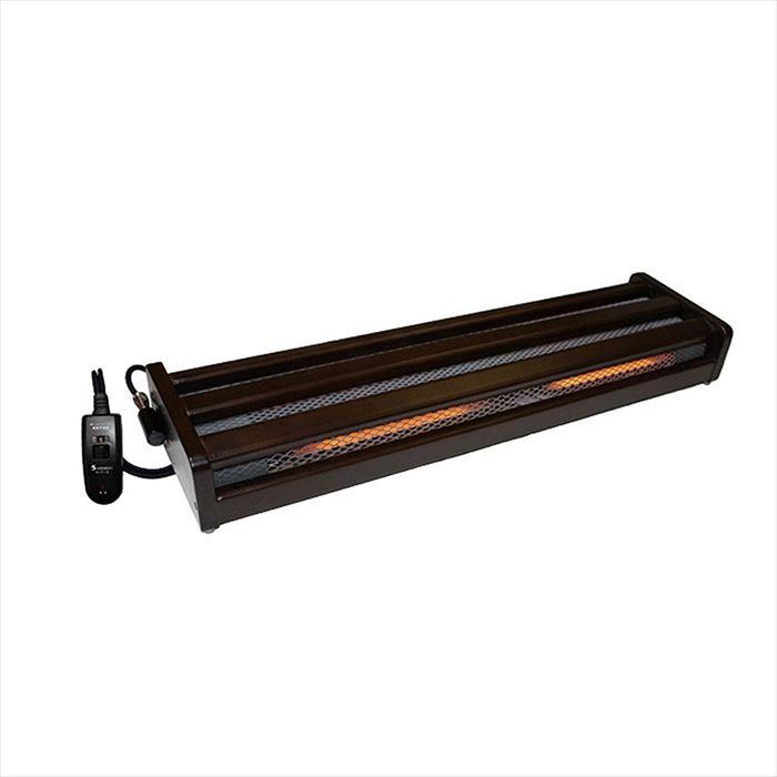 木枠フットヒーター(2灯式) 手元電子コントローラー式 メトロ電気工業 MFH-321ET