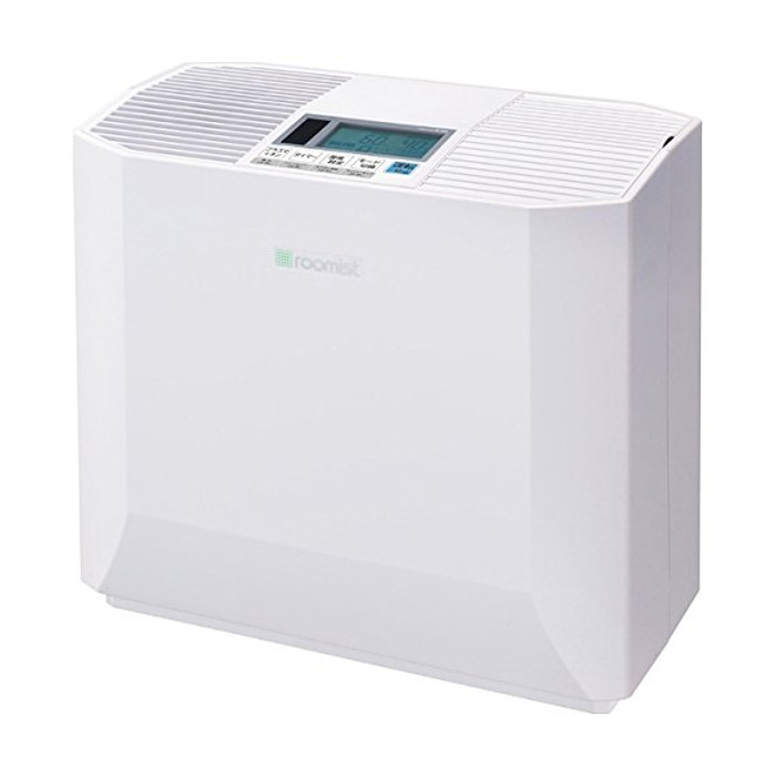 ハイブリッド式加湿器 roomist (木造和室8.5畳まで/プレハブ洋室14畳まで) クリアホワイト 三菱重工 SHK50NR-W