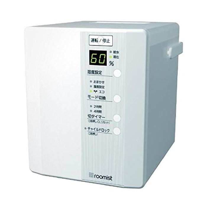 スチーム式加湿器 roomist(木造6畳まで/プレハブ洋室10畳まで) ピュアホワイト 三菱重工 SHE35PD-W