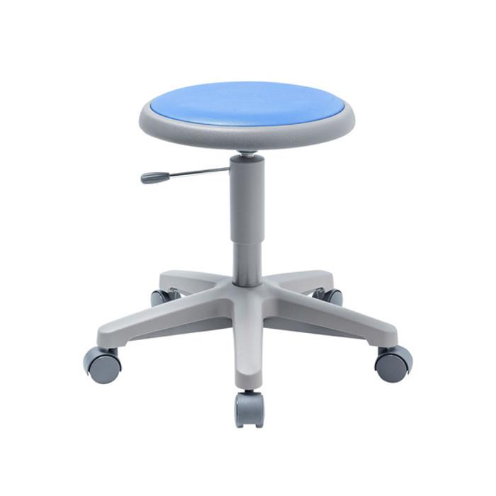 CAI教室向けラウンドチェア(低ガス圧仕様)丸椅子 サンワサプライ SNC-RD7