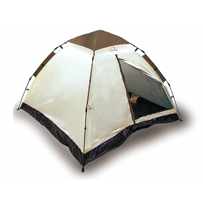 OUTDOOR MAN ワンタッチテント 傘のように開くお手軽ワンタッチテント ピーナッツクラブ KK-00542