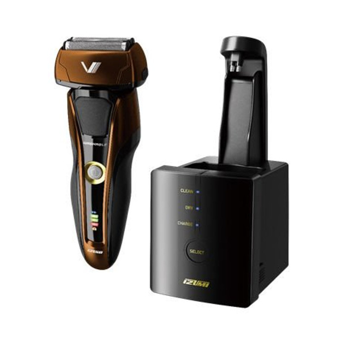 シェーバー 髭剃り IZUMI ハイエンドシリーズ Z-DRIVE 全自動洗浄/往復式シェーバー 3枚刃 日本製 泉精器 IZF-V957-T