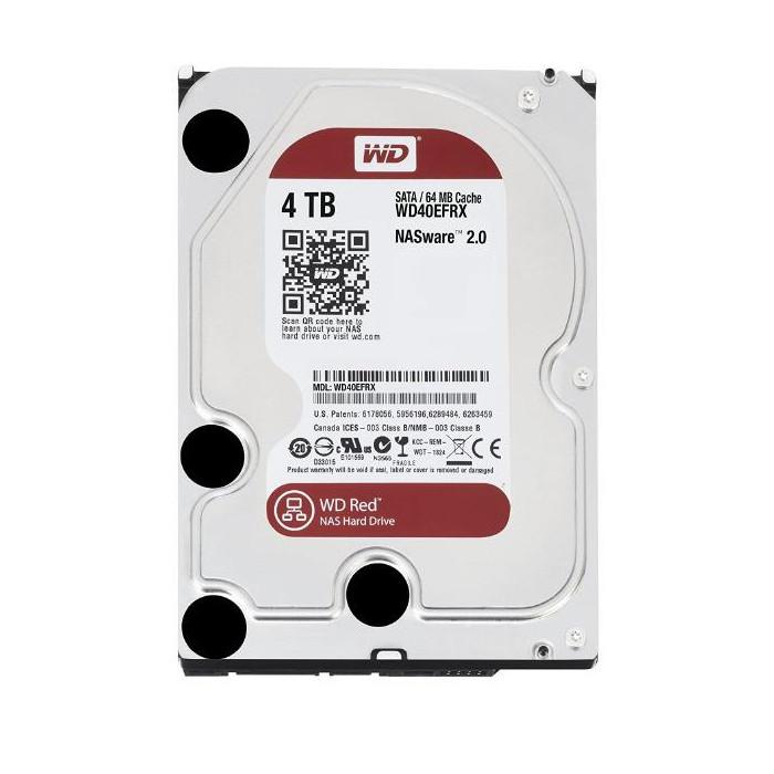 WD Red 内蔵ハードディスク WD40EFRX NAS HDD/4TB/5400rpmC/64MB Western Digital WD40EFRX