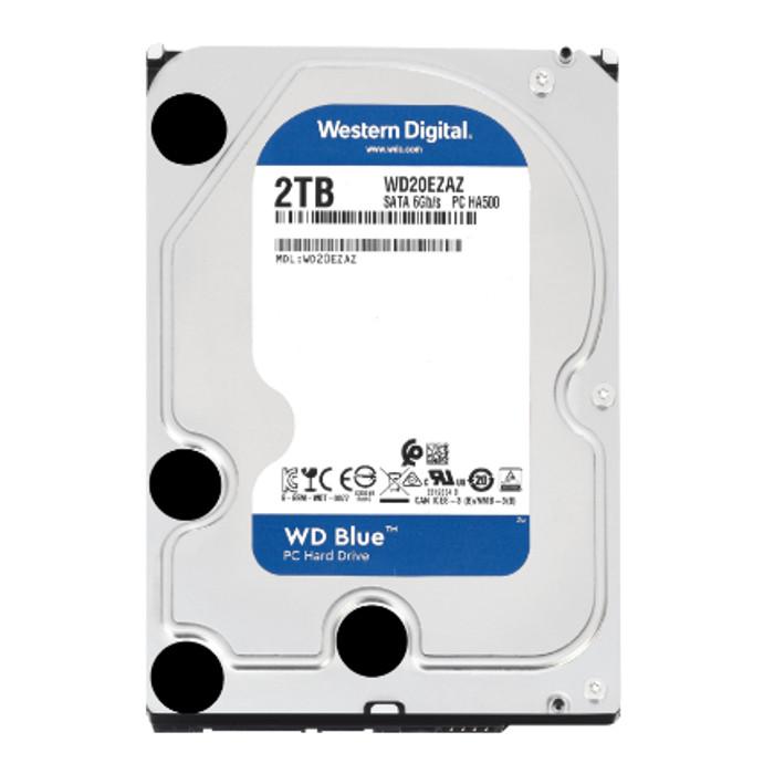ハードディスク WD BLUE 内蔵ハードディスク 内蔵HDD 3.5インチ 2TB 5,400rpm SATA 6Gb/s 256MB Western Digital WDC-WD20EZAZ