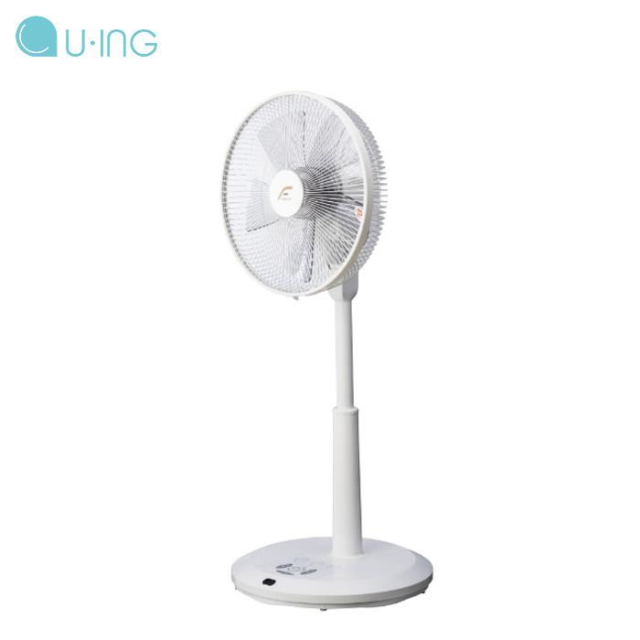 扇風機 DC DCモーター リビング扇 羽根径30cm 5枚羽根 風量切替7段階 静音 静か 節電 省エネ エコ ホワイト ユーイング UF-DSR30M(W)