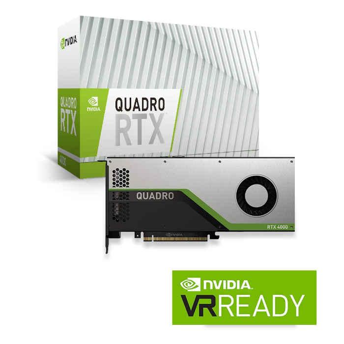 【沖縄・離島配送不可】グラフィックスボード プロフェッショナル向け NVIDIA Quadro RTX4000 エルザ ELSA Japan ELS-ENQR4000-8GER