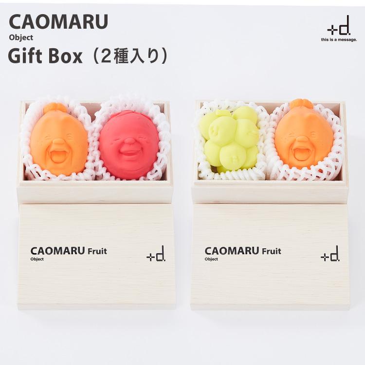 CAOMARU Fruit Gift Box 2種入り カオマル フルーツ ギフトボックス 2種入り