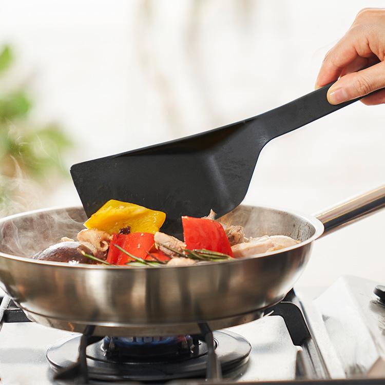 混ぜて ほぐして 返して 超人気 すくって 盛り付けて 料理が好きになる tag スパチュラ h spatula 割引も実施中 アッシュタグ
