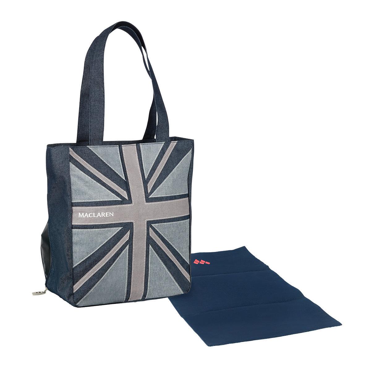アウトレットセール 特集 日常が楽しくなるトートバッグ A bag for everyday essentials. Maclaren Magazine Tote 在庫あり ベビーカー Denim マクラーレン バギー マガジントートバッグ_デニム ストローラー