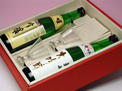 菊姫 吟醸自慢グラスセット