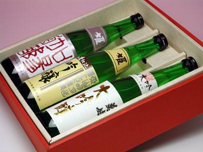 菊姫 特撰吟醸 三種セット