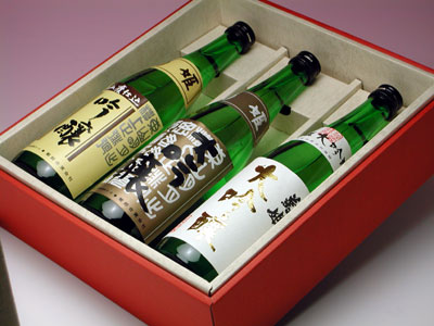 菊姫 自慢吟醸 三種セット