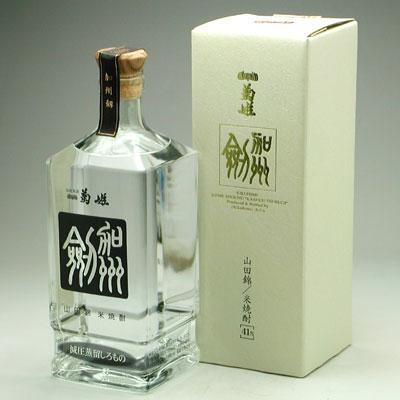 石川県の銘酒蔵菊姫の米焼酎 『加州 剱』 減圧蒸留しろもの 41度 720ml