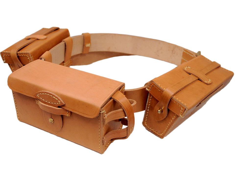 三八式弾薬盒(さんぱちしきだんやくごう)◆日本軍 軍装 装備品 コレクション