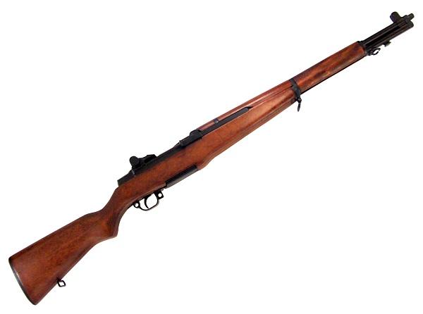 M1ガーランド ブラック WW2【コレクション】◆米軍 ライフル 撮影用 演劇用 舞台用 小道具 装飾銃