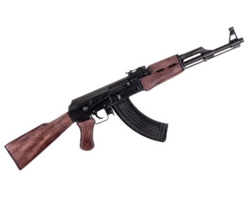 AK-47 カラシニコフ 【モデルガン】◆撮影用 演劇用 舞台用 小道具 装飾銃 西部劇 三銃士 海賊