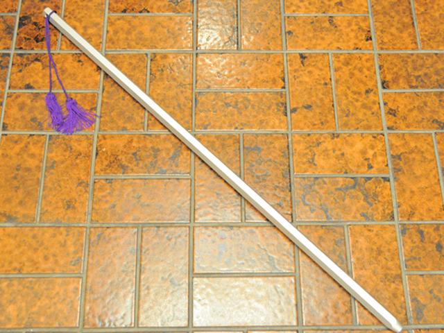 オトコなら振って振って振りまくれ!鍛練鉄杖 【たんれんかなじょう】◆筋トレ トレーニング ダイエット 鍛練 格闘 武道 ウエイト