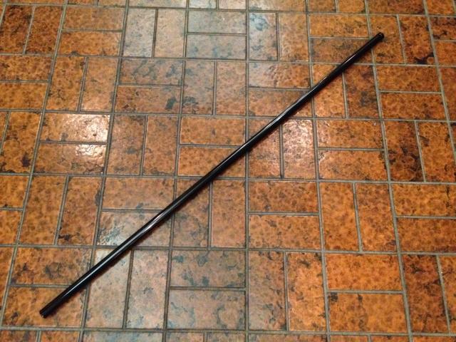 【鍛練棒】丸型鉄杖【まるがたかなじょう】◆筋トレ トレーニング ダイエット 鍛練 格闘 武道 ウエイト