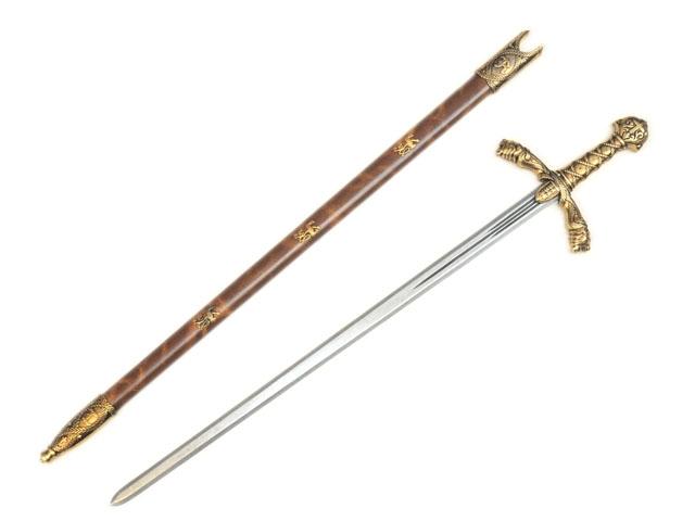リチャードライオンハーツソード ゴールド◆西洋刀剣 西洋剣 剣 サーベル ソード