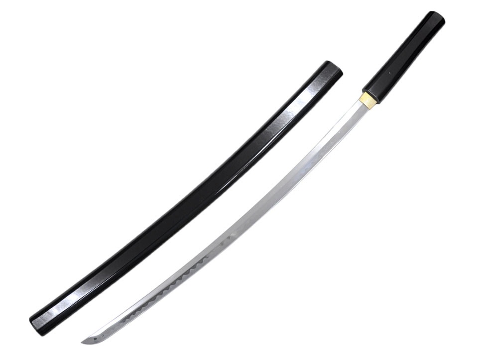 模造刀(美術刀)合口拵 黒呂鞘 大刀