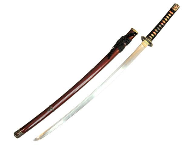 模造刀(美術刀) オリジナル  沖田総司拵 加州清光 アルミ刀身◆日本刀 召喚されてきた刀剣・銃