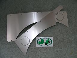 ジムニー ドア内張り左右セットアルミ製リヤ・ホロ用