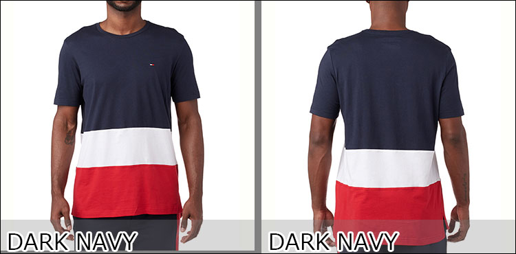 56b8d90e3c827b Cool neck T-shirt 09T3423 brand popularity Rakuten popularity brand  recommended Tommy ヒルフィガー