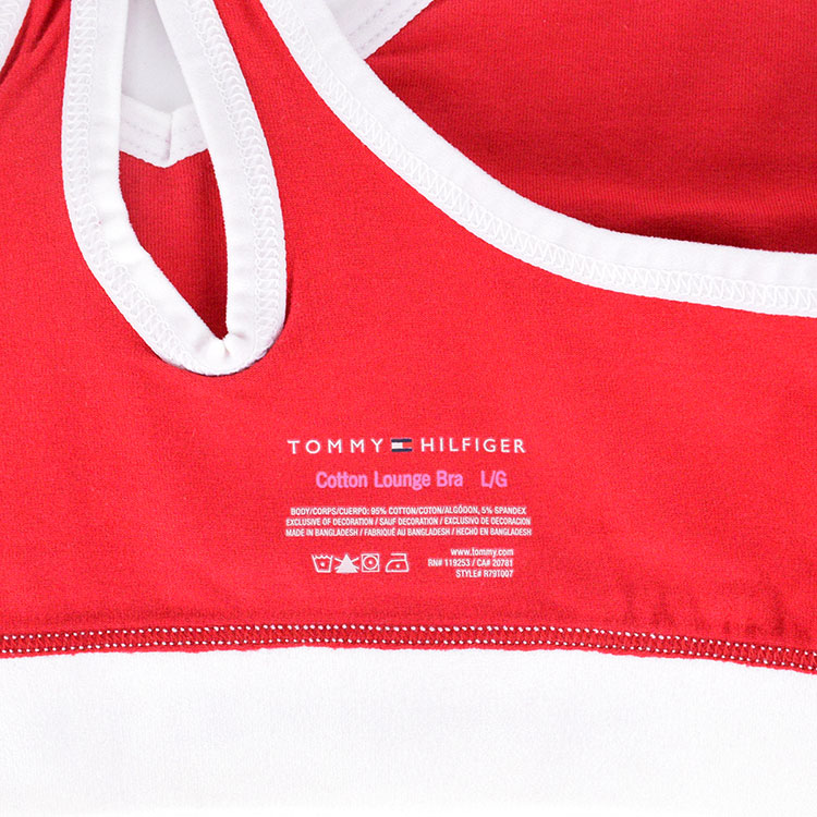 c12c44d6228e8f It is a girl for トミーフィルフィガーレディースレディース top and bottom set  top and bottom  set TOMMY HILFIGER birthday present woman she gift sports bra ...
