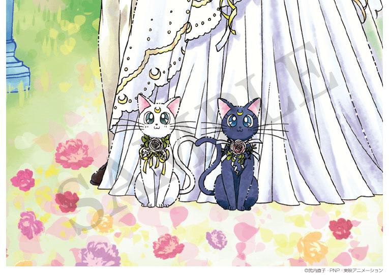 <令和>キャラクター婚姻届 美少女戦士セーラームーン Romance Wedding プロポーズの婚約指輪の代わりとして大人気!|婚姻届製作所