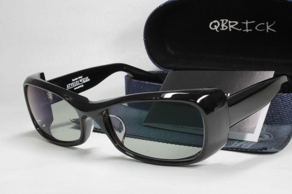 QBRICKキューブリック 偏光サングラス ATY0101 COMBEX コンベックス Polawing SPX02 CR ドゥーブル HM
