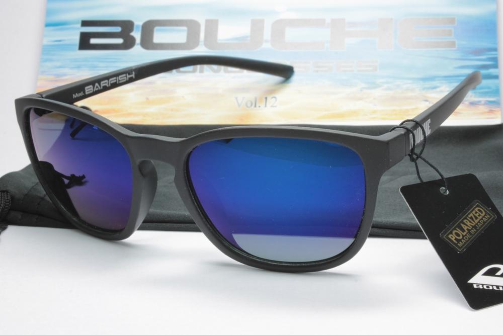 サーフィン フィッシング BOUCHE ブーシュ MATBLK 賜物 BLUMIR 偏光サングラス 海外並行輸入正規品 BARFISH