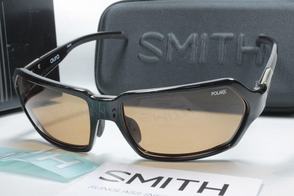 SMITH スミス 偏光サングラス ACTION POLAR SERIES 207500010 Aura Black X-AC Orange 31