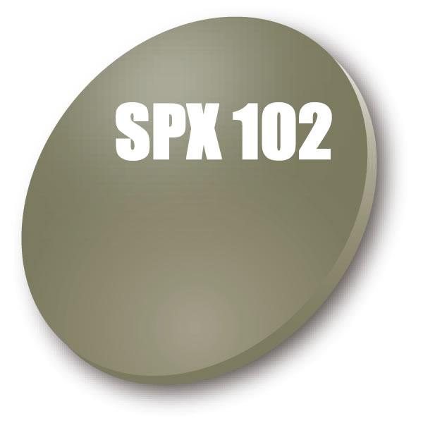 在庫 コンベックス偏光レンズ交換 Polawing SPX-102 6C HMM フィールドグレイ/ブルーミラー