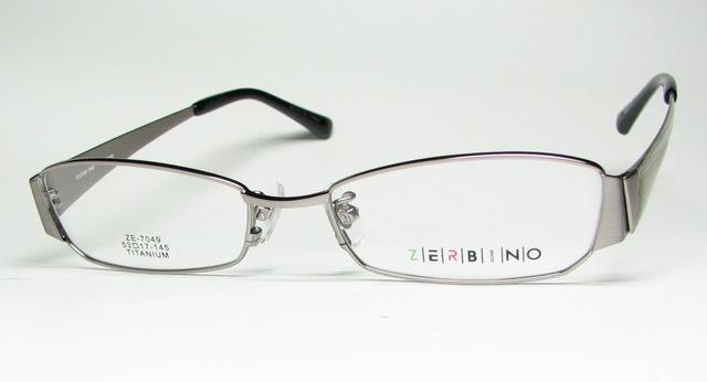 メガネ 眼鏡 度付レンズ 加工無料 ZERBINO ZE 7049 C 2