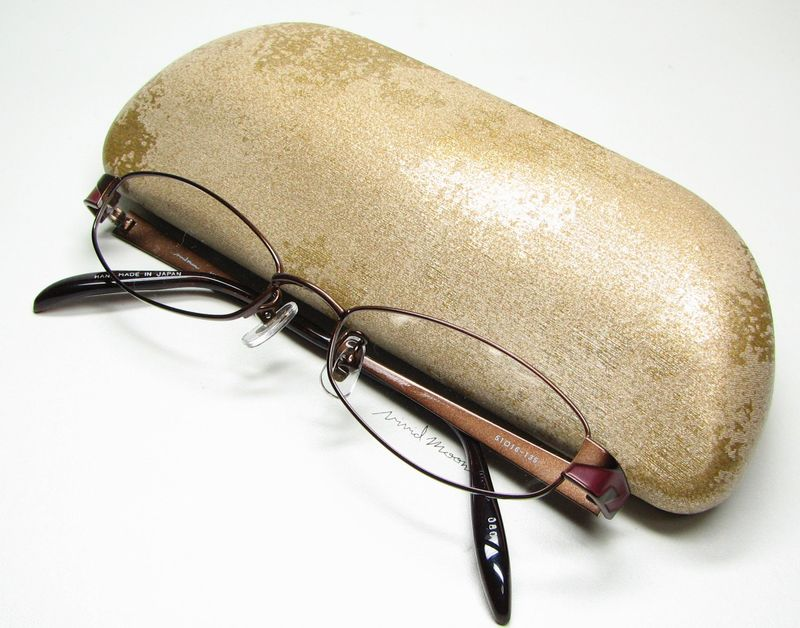 メガネ 眼鏡 度付レンズ 加工無料 VividMoon松雪泰子 VM 11133 ブラウン col080