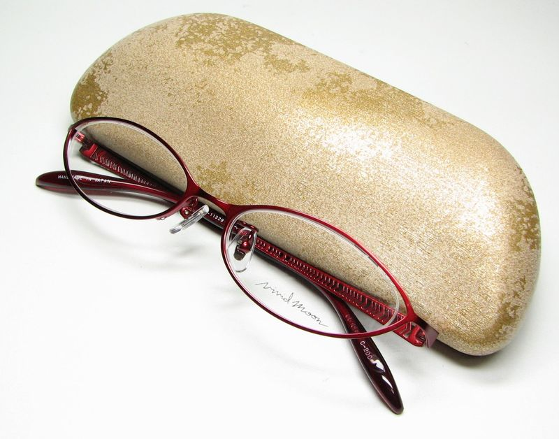 メガネ 眼鏡 度付レンズ 加工無料 VividMoon松雪泰子 VM 11329 レッド col200