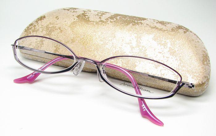 メガネ 眼鏡 度付レンズ 加工無料 VividMoon松雪泰子 VM 11324 ライトバイオレット ラベンダー col980