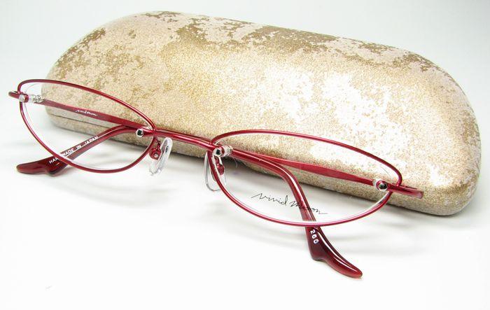 メガネ 眼鏡 度付レンズ 加工無料 VividMoon松雪泰子 VM 11326 レッド col200