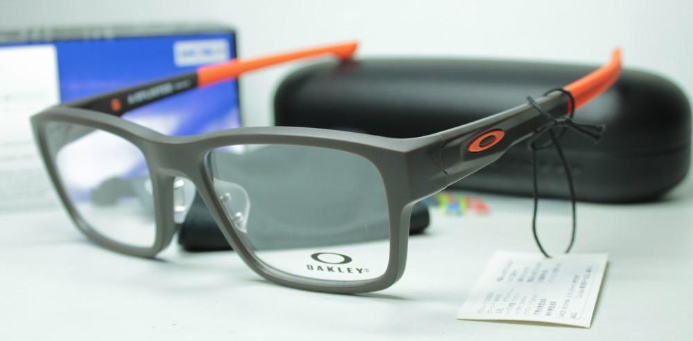 メガネ用度付きレンズ無料 OAKLEY オークリー フレーム 0OX8095 SPLINTER (A)809505 SATIN FLINT