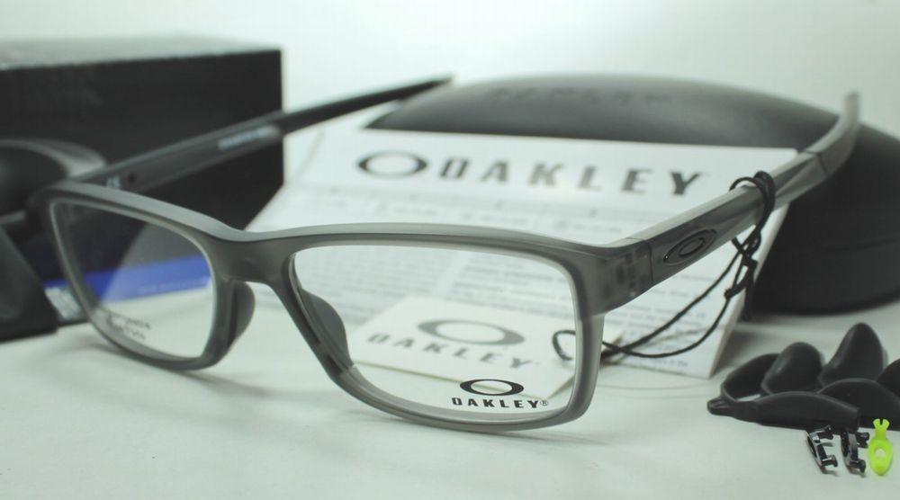 メガネ用度付きレンズ無料 OAKLEY オークリー フレーム 0OX8089 CHAMFER MNP 808903 SATIN GREY SMOKE