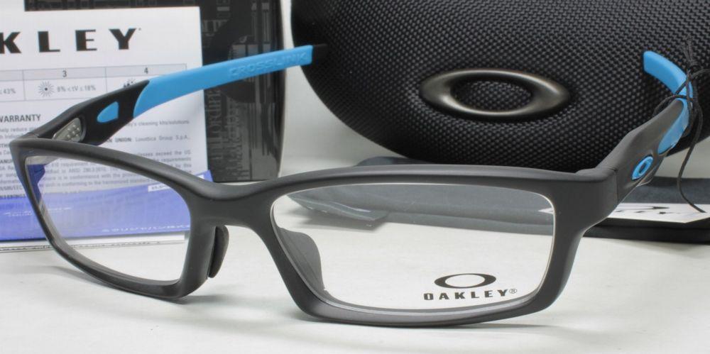メガネ用度付きレンズ無料 OAKLEY オークリー フレーム 0OX8118 CROSSLINK (A) 811801 POLISHED BLACK