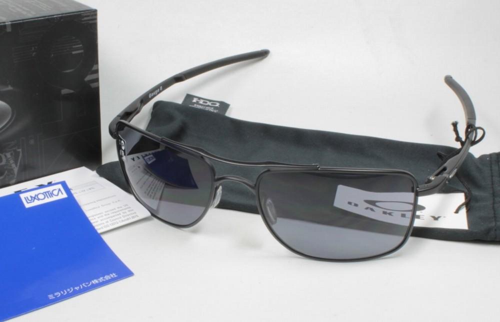 OAKLEY オークリー サングラス OO4124 GAUGE ゲージ 8 412401 MATTE BLACK (8C)